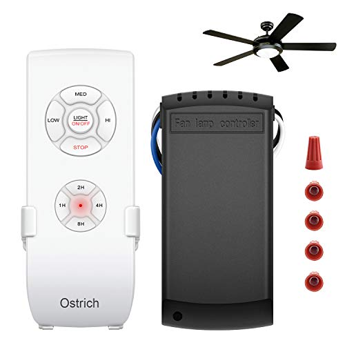 Ceiling Fan Remote Control Kit, WI-FI Smart Fan Control Timing Wireless Control with Amazon Alexa