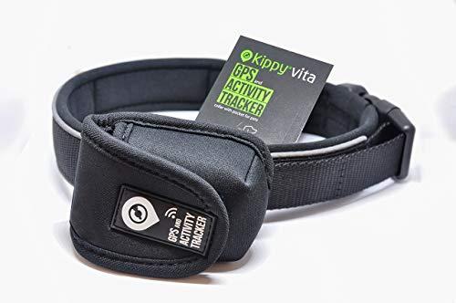 Kippy Collare Premium per Cani di Taglia Media e Grande | Regolabile, Resistente all'Acqua e Lavabile per per Un Comfort di Lunga Durata | Include Tasca Porta Vita S | Disponibile in 2 Taglie