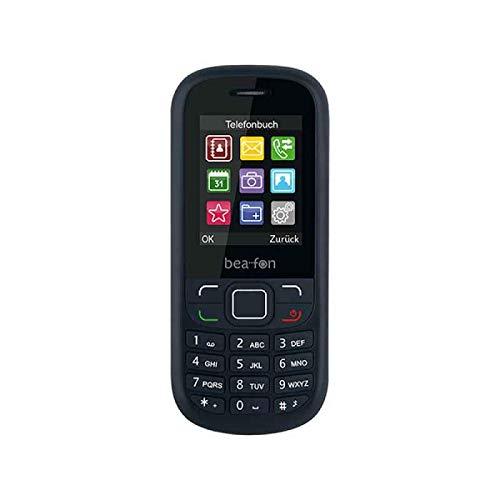 Bea-Fon C40_EU001BG Classic Line Handy (Dual SIM) Schwarz/Grau