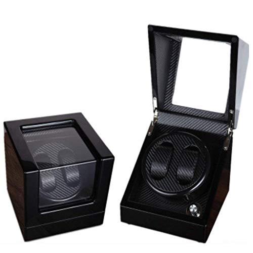 ZCYXQR Agitadores de bobinado de Reloj automático Medidor de Akine Cajas de bobinado automático Medidores mecánicos Motores giratorios Cajas de Reloj de Cadena Moda