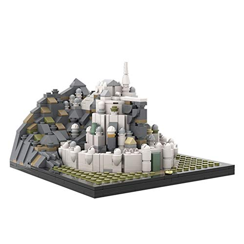 WDLY 748 PCS Bloque De Construcción Compatible con Lego Mini Minas Tirith, Puzzle Técnica Técnica Super Racing RC Coche...