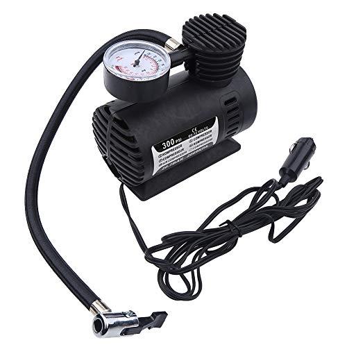 Nancunhuo Mini compresor de Aire-Mini compresor de Aire portátil Bomba infladora de neumáticos eléctrica Coche de 12 voltios 300 PSI