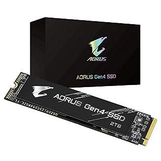 GIGABYTE AORUS NVMe Gen4 M.2 2TB PCI-Express 4.0 Interface High Performance Gaming, 3D TLC NAND, External DDR Cache Buffer, SSD GP-AG42TB (B08FWY81LM)   Amazon price tracker / tracking, Amazon price history charts, Amazon price watches, Amazon price drop alerts