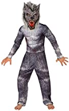 Boys Werewolf Deluxe Costume for Kids Quality Childs Wolf Dress Up, Werewolf, Large (53-58 Ins/134cm-146cm)