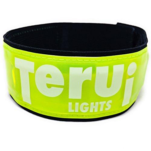 LED蛍光アームバンド 超蛍光+超反射で視認性抜群 夜間 ランニング ライト ウォーキング サイクリング