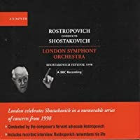 Rostropovich conducts Shostakovich by London Symphony Orchestra (2004-07-21)