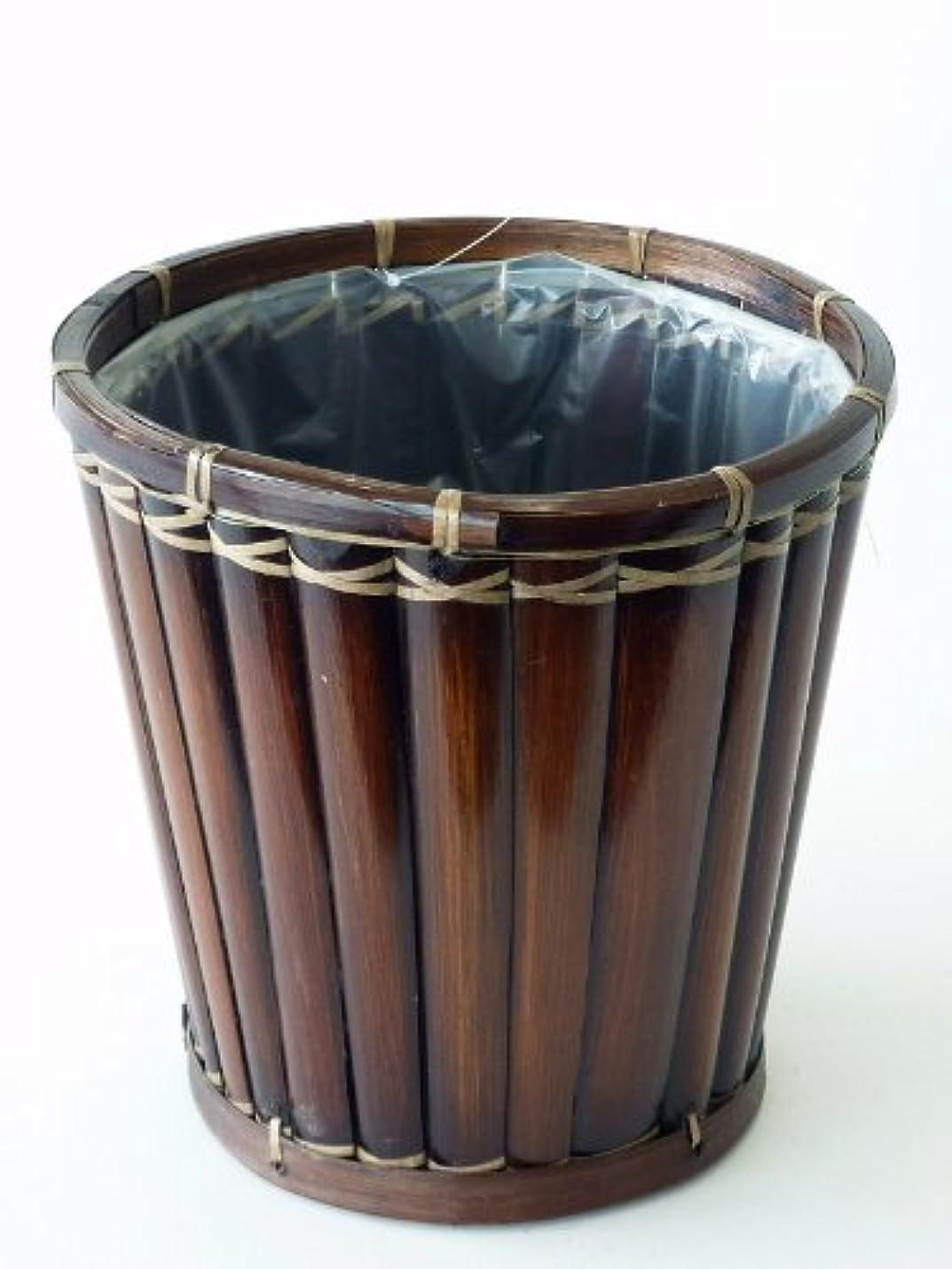震える麻痺させるクリア鉢バスケット(7号) ナチュラル感たっぷりの鉢用のカゴです。お気に入りの観葉植物がオシャレなインテリアになります。
