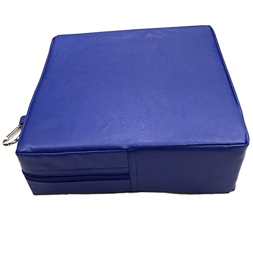 Senseez SENZ58698 Quadratisches Kissen, blau