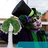 IVY HAIR Batman Dark Knight The Joker Adult Wig ジョーカー ハロウィンコスプレ ウィッグ グッズ フィギュア メンズ カツラ 耐熱 男性用 女性用バットマンダークナイトジョーカーcosplay wig ショートポップグリーンヘアウィッグ不気味な怖いハロウィンコスプレパーティーの小道具