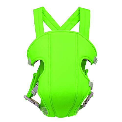 AYBABY Porte Bébé Ergonomic Baby Carrier Sac à Dos Safe Backpack Carriers Back Pain Support with Adjustable Straps,Green