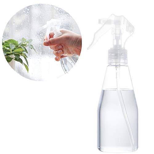TUANTALL Spray Vide 200 ML Flacons Vaporisateurs Plante Spray Vide Ménage Pulvérisateurs Saupoudrer l'eau Pulvérisée Brouillard Transparent Bouteilles pour Le Rechargeable Liquide Vaporisateur