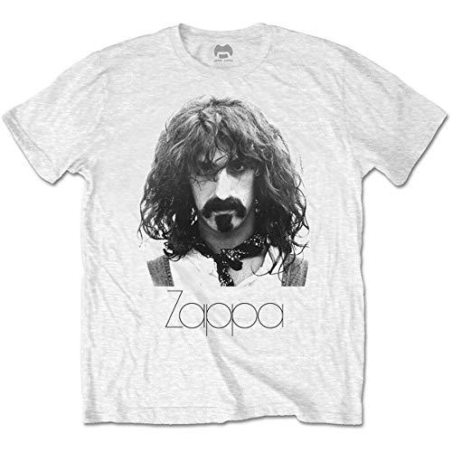 T-Shirt # M Unisex White # Thin Logo Portrait