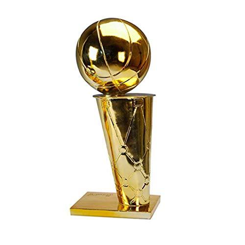 NBA Campeonato de Baloncesto Trofeo Premio de la Liga galvanoplastia Oro Resina ecológica Resistente a la corrosión Recuerdo