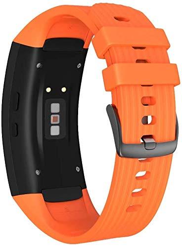 Classicase Correa de Reloj Reemplazo Compatible con Gear Fit2 Pro, la Correa de Reloj Watch Band Accessorios (Pattern 2)