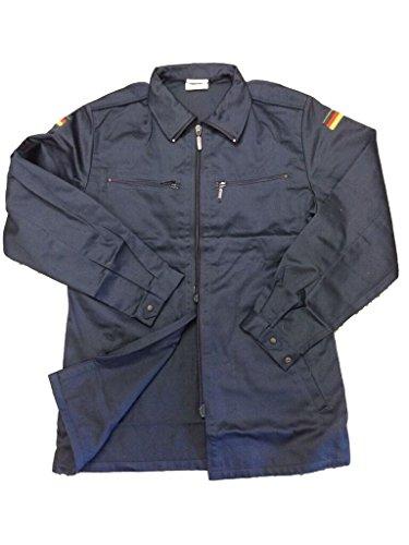 GERMAN ISSUE Bundeswehrshirt Ermüdung Jacke, tolles Military Chic, Herren, Jacke, blau