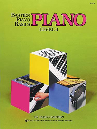 WP203 - Bastien Piano Basics - Piano Level 3