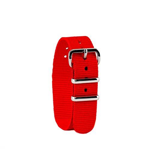 EasyRead time teacher WS-R Uhrenarmband, rot (weitere Farben erhältlich)