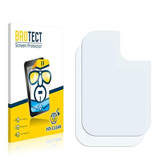 BROTECT Schutzfolie kompatibel mit Samsung Galaxy A21s (NUR Kamera) (2 Stück) klare Bildschirmschutz-Folie