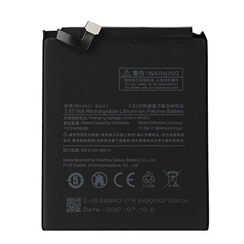 Todobarato24h Bateria Compatible con Xiaomi Mi A1/5X/Note 5A/ Note 5A Prime - BN31 3080 mAh