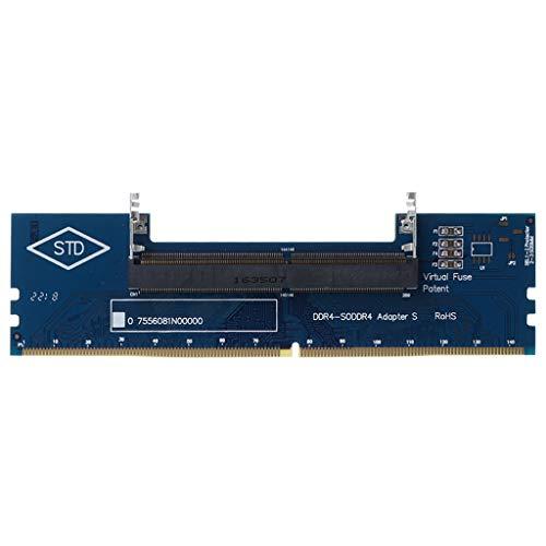 ruiruiNIE Professional Laptop DDR4 SO-DIMM zu Desktop DIMM Speicher RAM Anschlussadapter Desktop PC Speicherkarten Konverter Adapter