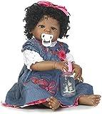 XBR Muñeca Reborn para niña, muñeca de Vinilo para bebé, Silicona Suave, Realista, 22 Pulgadas, 56Cm, muñecas para bebé Reborn