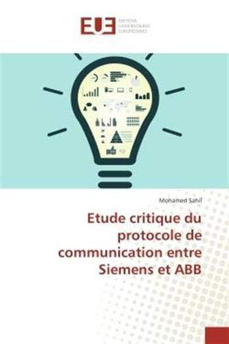 Etude critique du protocole de communication entre Siemens et ABB (OMN.UNIV.EUROP.)