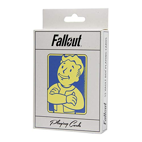 Fallout Playing Cards Deck - Depicting Your Favorite Vault Boy Perks from The Video Game - Full 52 Card Deck