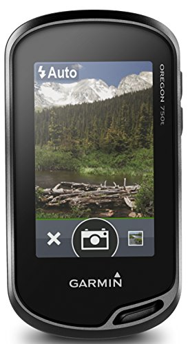 Garmin - Oregon 750 Europa Occidental, Color Negro
