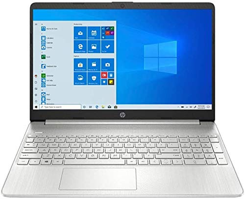 2020 HP Pavilion 15.6' Touchscreen Laptop AMD Ryzen 5 Processor 12GB RAM 256GB PCIe SSD HD Webcam HDMI AMD Radeon Vega 8 Graphics Win 10S Natural Silver Bundled with 32GB PCS USB Card