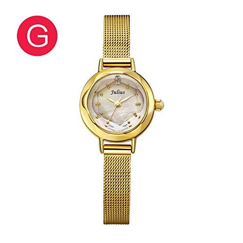 LNNANA Classic student mode trend kleine wijzerplaat waterdicht OL kwarts vrouwelijke horloge JA-482