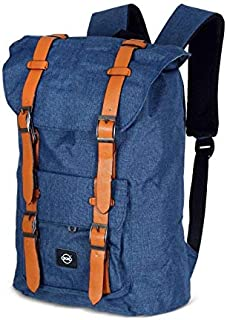 OKKO Casual Backpack - 18 Inch, blue
