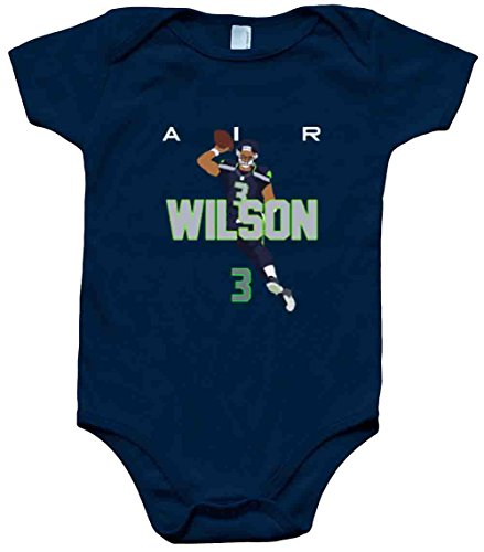 The Silo Navy Seattle Wilson AIR PIC Baby 1 Piece 12 Months