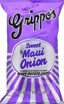 Grippo's Sweet Maui Popular Challenge the lowest price of Japan ☆ shop is the lowest price challenge Onion Chips Wavy 18ct Potato