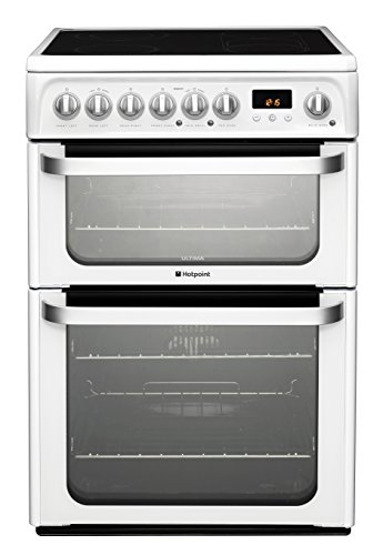 Hotpoint Ultima HUE61PS Electric Cooker with Ceramic Hob -...