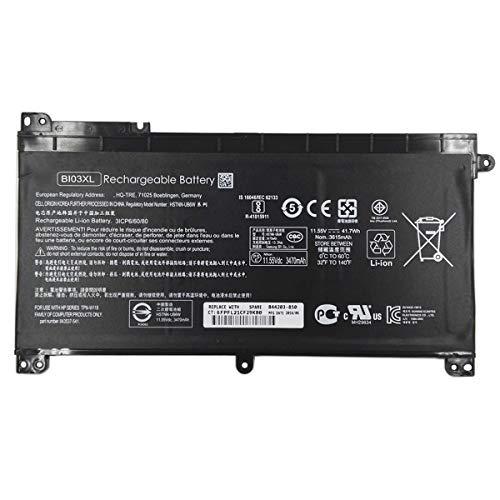Swark Batería BI03XL para portátil compatible con HP Pavilion X360 13-U M3-U M3-U001DX M3-U103DX 13-U100TU 13-U100TU 13-U118TU Stream 14-AX 14-ax010wm 14-ax020wm 14-ax020wm AX030WM Series