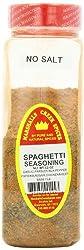 Marshalls Creek Spices Spaghetti Seasoning No Salt 12 Ounce