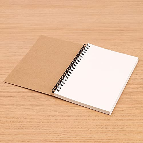 ZJF Sketchbook Diary Painting Graffiti Soft Cover Black Paper Sketchbook Bloc de Notas Cuaderno Oficina Suministros Escolares 1pc (Color : 4)