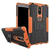 for Lenovo phab2 plus Case,Heavy Duty Hybrid Tough Rugged