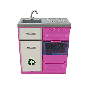 Barbie Replacement Parts for Dreamhouse Dreamhouse FHY73 - Replacement 1 Electronic Stove/Sink