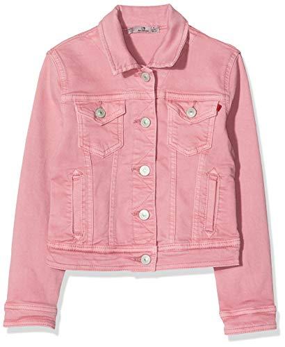 LTB Jeans Mädchen Eliza G Jacke, Rosa (Dusty Pink Wash 52316), 128 (Herstellergröße: 8)