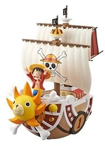 Banpresto 167260 Estatua Luffy en Barco 19cm
