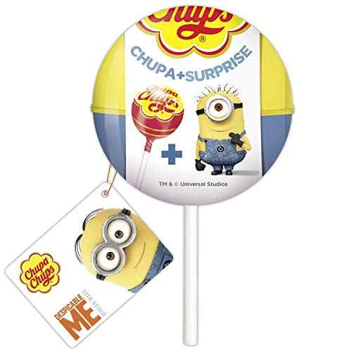 Chupa Chups Chupa + Surprise'Despicable Me Minions' Lollipop with a surprise 1ct.