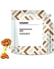 Solimo Handwash Liquid Refill, Honey Almond - 1500 ml