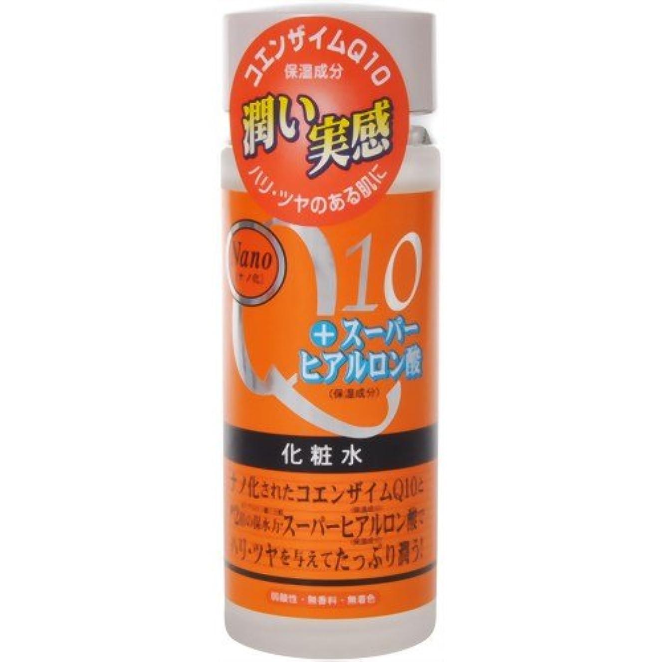 士気火傷狂うナノ化?コエンザイムQ10&スーパーヒアルロン酸化粧水 120ml