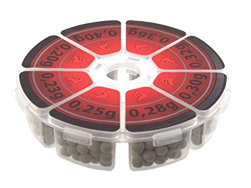 LONEX Vario Airsoft Bio BB Muster Set 0,20g + 0,23g + 0,25g + 0,28g + 0,30g + 0,32g + 0,36g + 0,40g