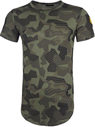 Stegol Herren Herren T-Shirt T-Shirt schwarz schwarz M Gr. XL, grün