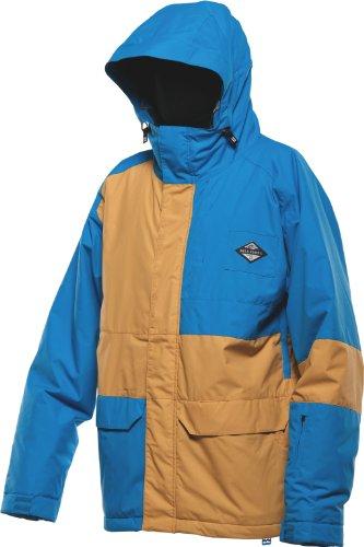 BILLABONG Men's Relay Snow Jacket - Spray Blue, Small