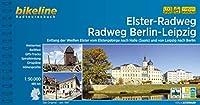 Elster-Radweg . Radfernweg Berlin-Leipzig: Entlang der Weissen Elster vom Elstergebirge nach Halle (Saale) und von Leipzig nach Berlin, 480 km, 1:50.000, wetterfest/reissfest, GPS-Tracks Download, LiveUpdate