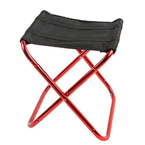 Taburete plegable para acampada al aire libre, silla plegable, ligera y portátil, ideal para picnic, camping, reposapiés de viaje compacto
