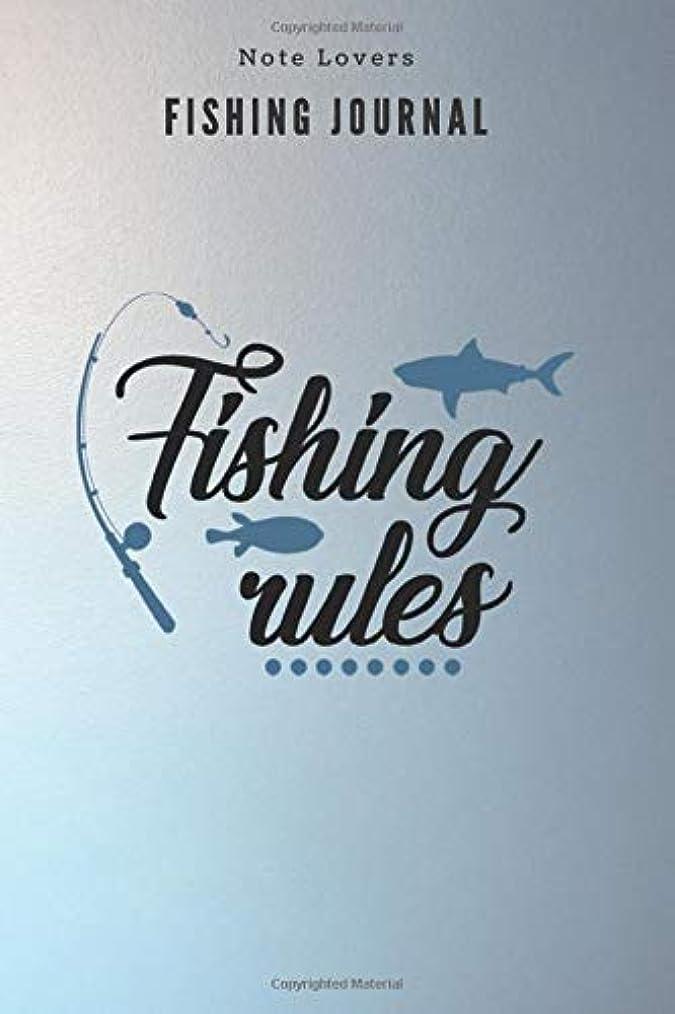 十一苦情文句無礼にFishing rules - Fishing Journal: Fishing Log Book | Perfect Gift For Gift for Fishing Lover